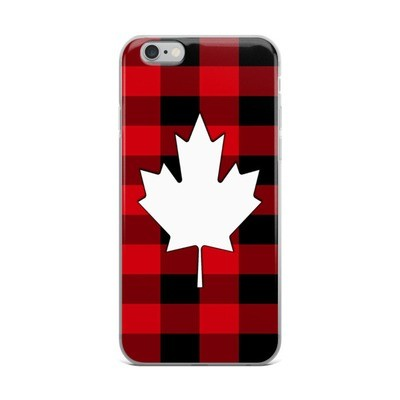 iPhone Case - Maple Leaf Plaid