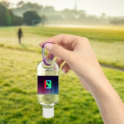 EINC 50ml Hand Sanitizer W/ Colored Chains 24pcs