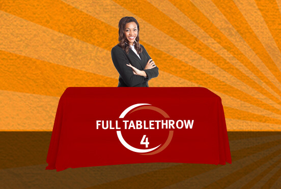 4-ft Full Table Throw