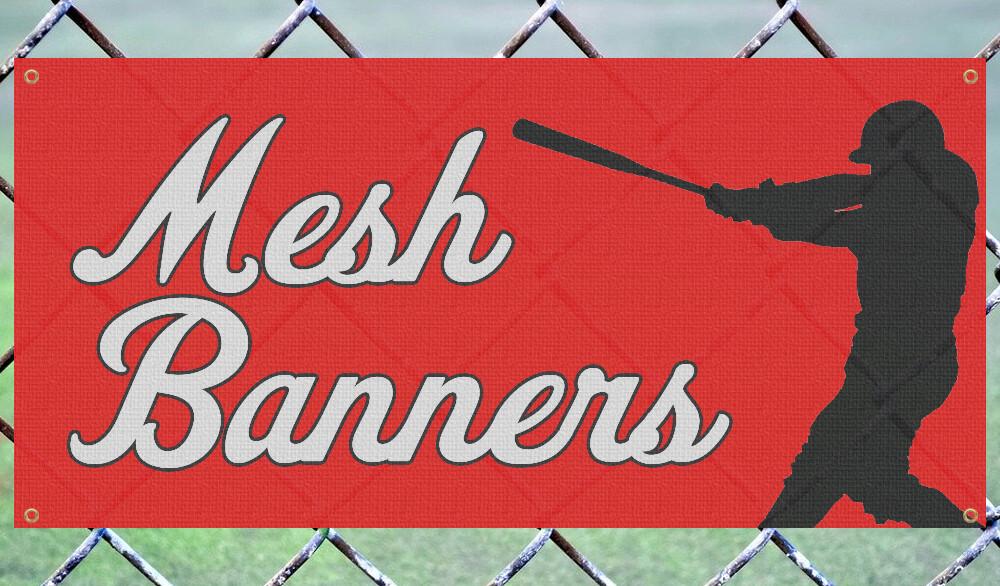 Mesh Fence Banner