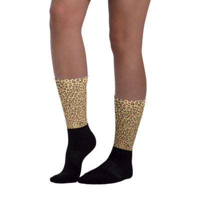 Lepoard socks