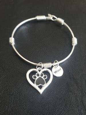 """A Heart For Bagheera"" Bracelet"
