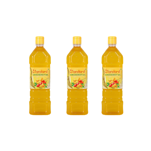 GROUNDNUT OIL - 3 LITRE