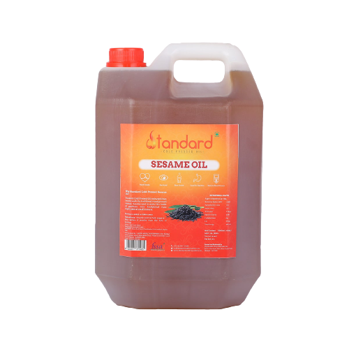 GINGELLY OIL - 5 LITRES