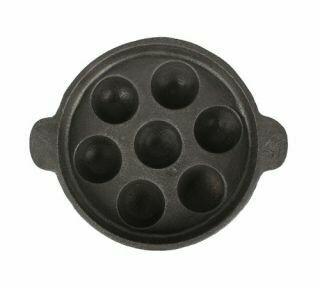 Kuzhi Paniyaram Pan Iron (Not Seasoned)