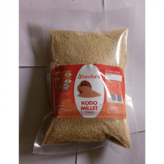 Varagu 500g / Kodo Millet / Kodon (Unpolished)