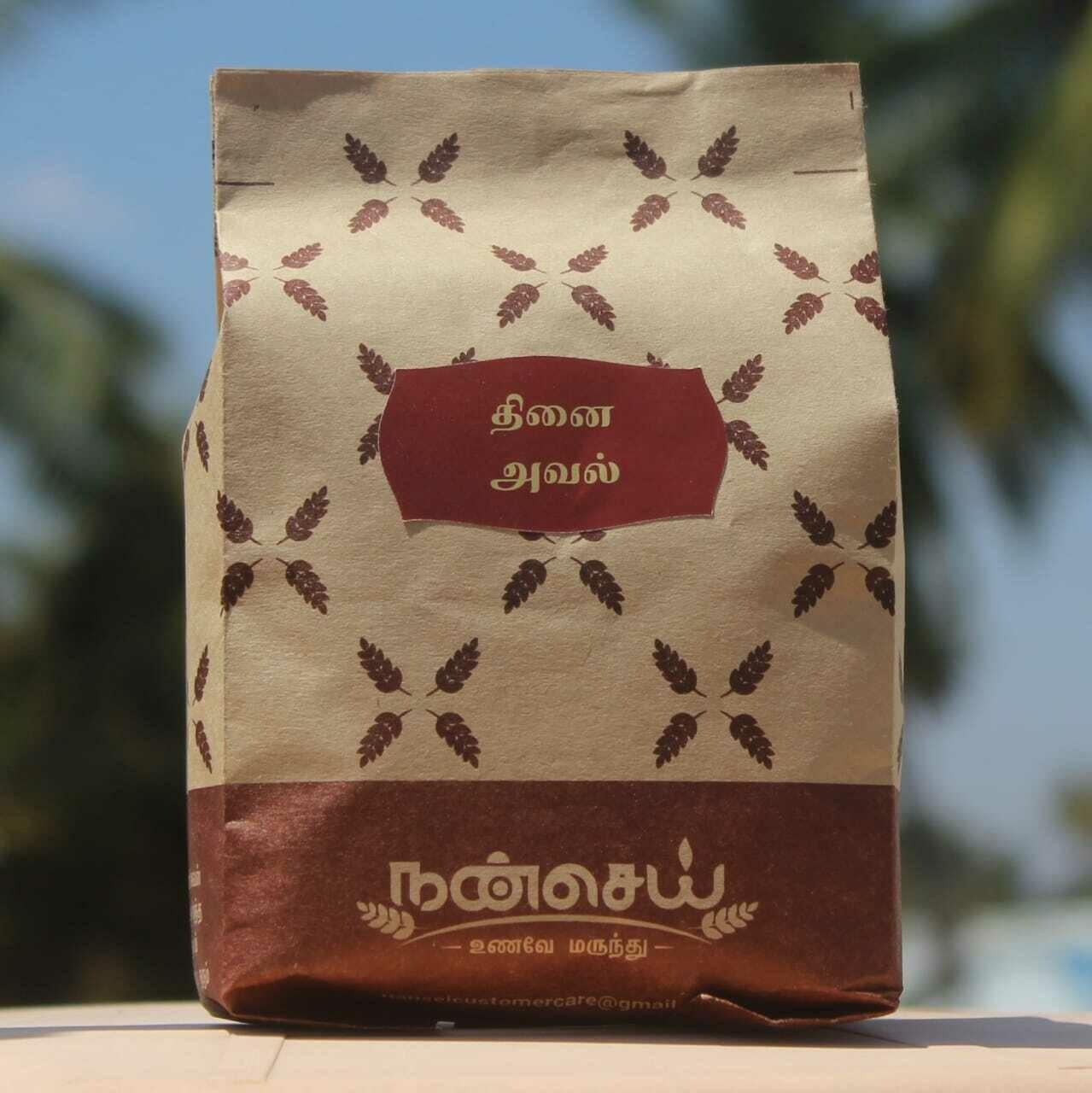 Millet Flakes   Thinai Avul - 250 Grams