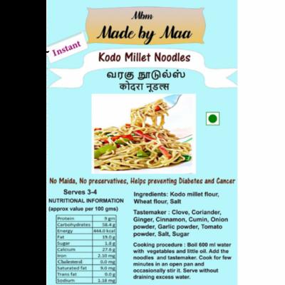 Kodo Millet Noodles | Varagu Noodles | Kodara Noodles - 175g