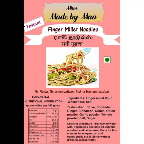 Finger Millet Noodles   Ragi Noodles - 175g