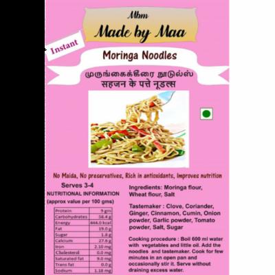 Moringa Noodles | Murungakeerai Noodles | Sahajan Ke Patte Noodles - 175g