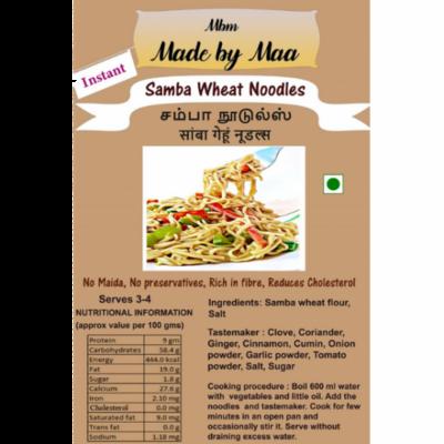 Samba Wheat Noodles | Samba Noodles | Samba Gehu Noodles -175g