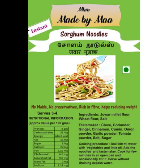 Sorghum Noodles   Cholam Noodles   Jawar Noodles - 175g
