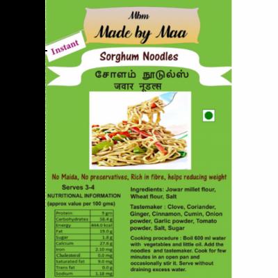 Sorghum Noodles | Cholam Noodles | Jawar Noodles - 175g