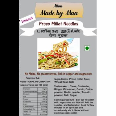 Proso Millet Noodles | Panivaragu Noodles | Chhena Noodles - 175g