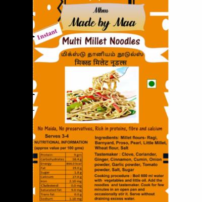 Multi Millet Noodles | Mixed Dhaniyam Noodles | Mixed Millet Noodles - 175 Gm