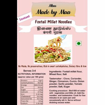 Foxtail Millet Noodle | Thinai Noodles | Kangani Noodles - 175g