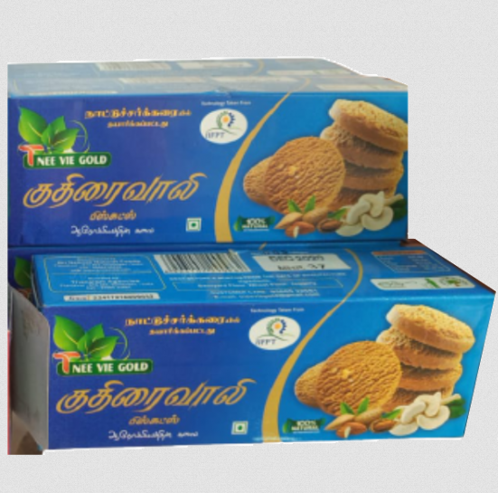 Kuthiraivalli Millet Biscuits | Barnyard Biscuits | Sanwa Biscuits- 100g