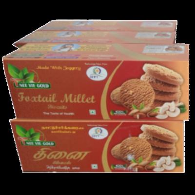 Foxtail Millet Biscuit | Thinai Biscuit | Kakum Biscuit - 100g