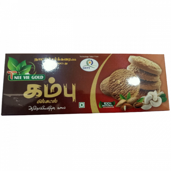 Pearl Millet Biscuit   Kambu Biscuit   Bajra Biscuit - 100g