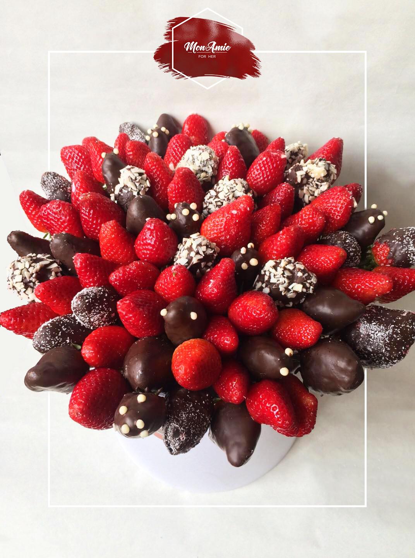 შერეული   Mixed Strawberries