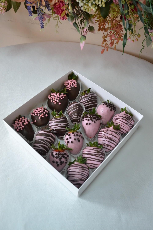 ყავისფერი & ვარდისფერი (16ც) | Brown & Pink (16pcs)