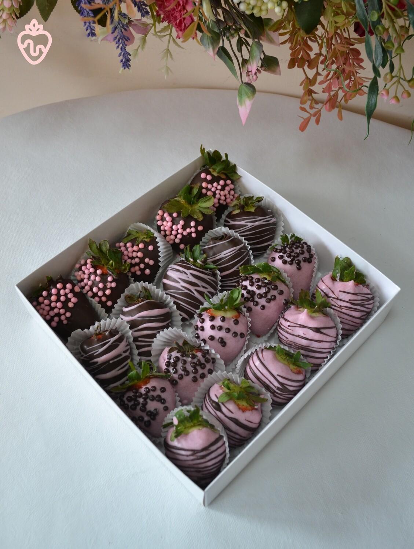 ყავისფერი & ვარდისფერი (20ც) | Brown & Pink (20pcs)