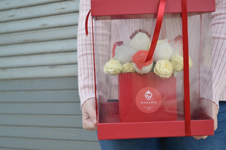 თაიგული 2 ყუთში | Bouquet in 2 Boxes