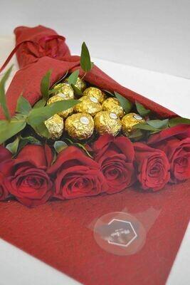 ვარდები & ფერერო | Roses & Ferrero Rocherg
