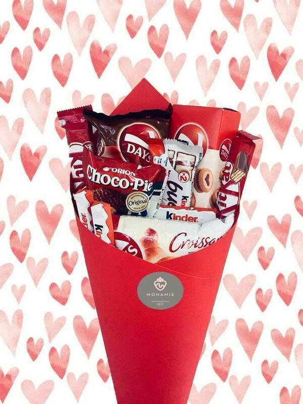 შოკოლადის თაიგული | Chocolate Bouquet