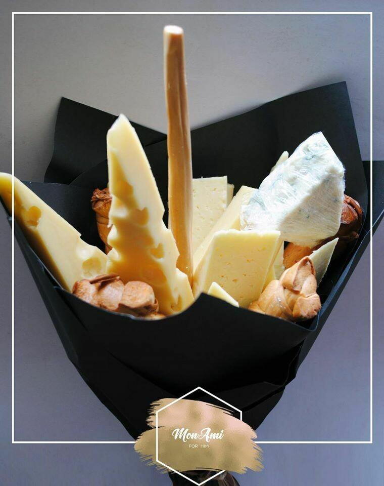 ყველის თაიგული | Cheese Bouquet