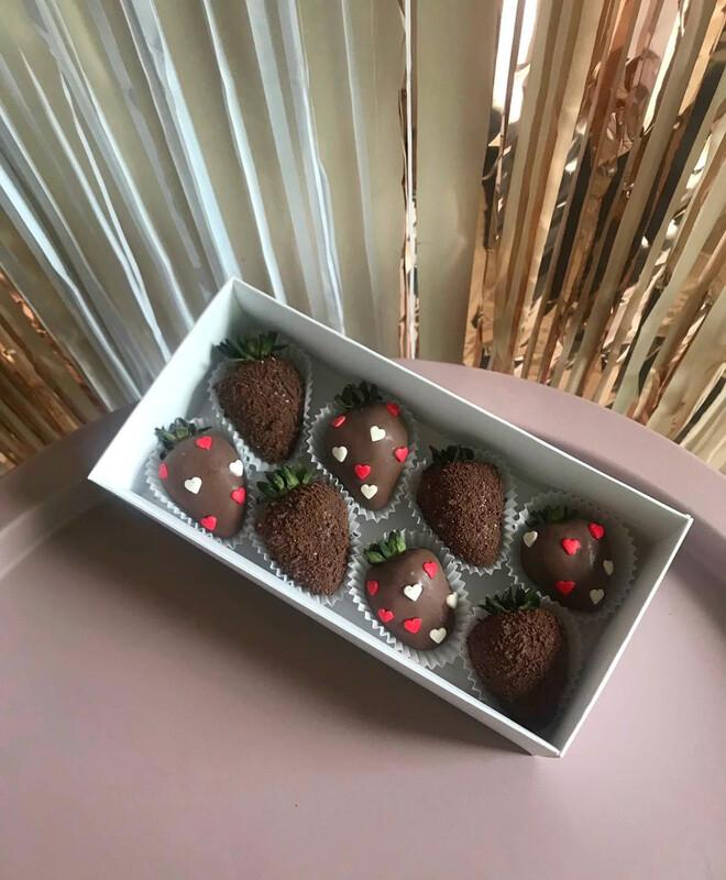 8-ცალიანი ნაკრები | Pack of 8 Strawberries
