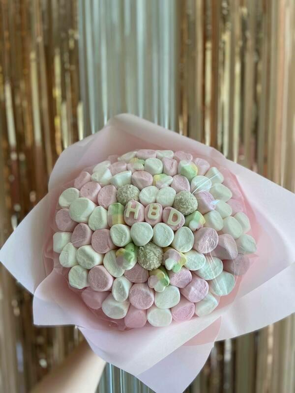 ზეფირის თაიგული   HBD Marshmallow Bouquet
