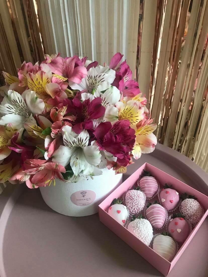 9-ცალიანი ნაკრები ვარდისფერი | Pack of 9 Strawberries Pink