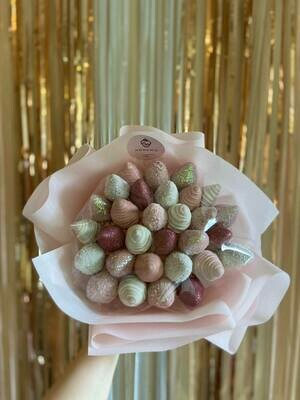 სტანდარტული თაიგული ვარდისფერი | Standard Bouquet Pink
