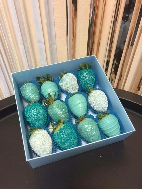 12-ცალიანი ნაკრები ცისფერი | Pack of 12 Strawberries Blue