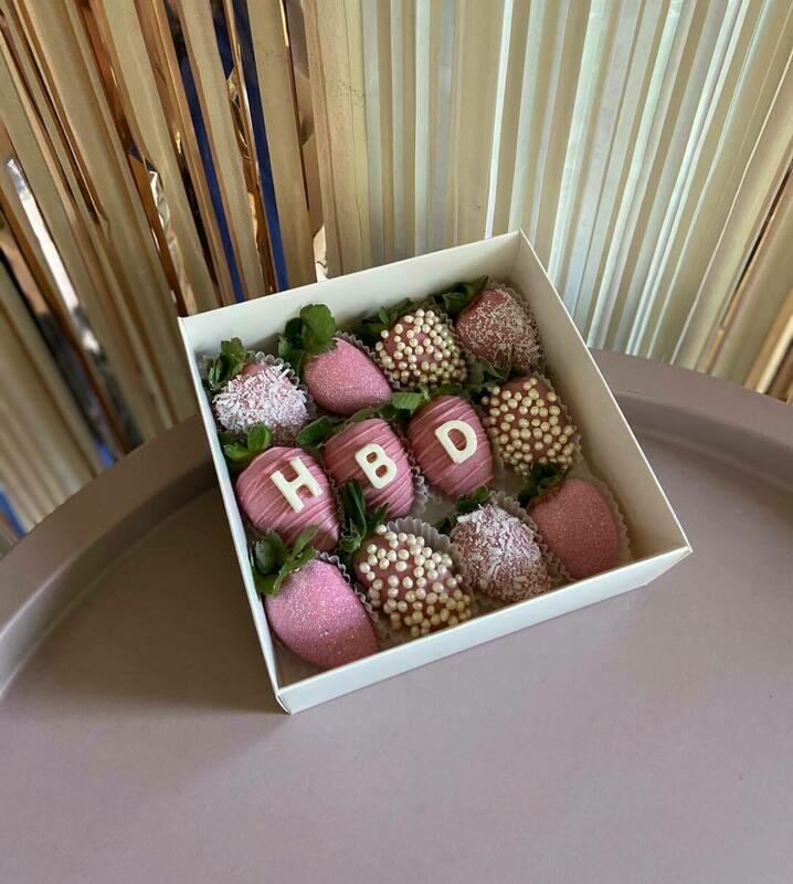 12-ცალიანი ნაკრები   HBD Pack of 12 Strawberries