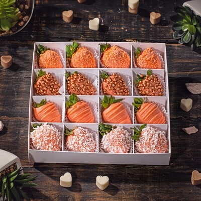 16-ცალიანი ნაკრები | Pack of 16 Strawberries