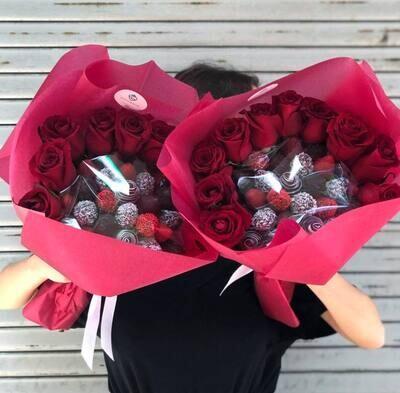 მარწყვი & ვარდები   Strawberries & Roses