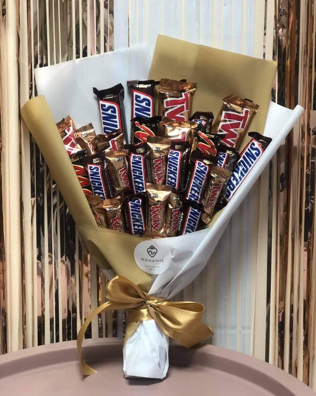 შოკოლადის თაიგული   Chocolate Bouquet