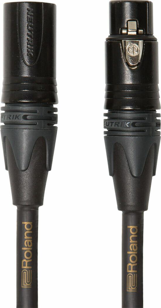 RMC GQ3 Четырехпроводниковый микрофонный кабель серии Gold компании Roland