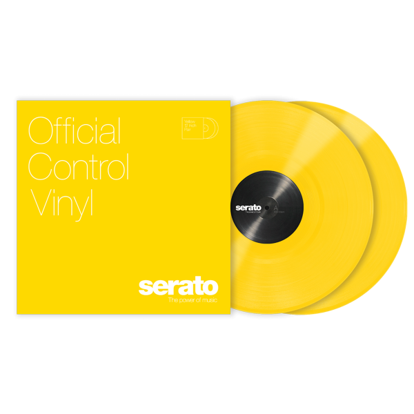 Serato Performance Series (пара) - Yellow