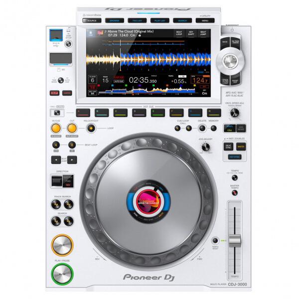 Pioneer CDJ-3000-W Limited Edition