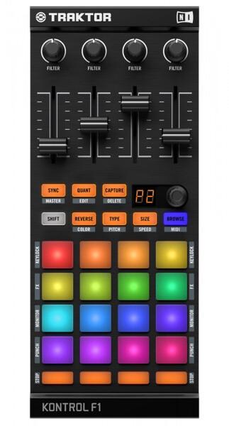 DJ контроллер Native Instruments Traktor Kontrol F1