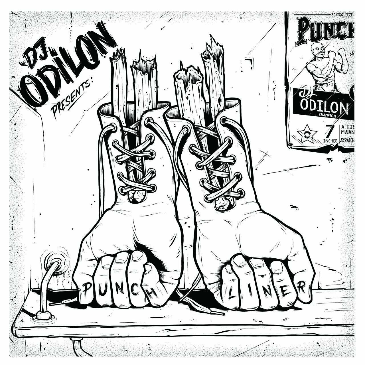 THE PUNCHLINER VOL.2 BY DJ ODILON (7 дюймов)