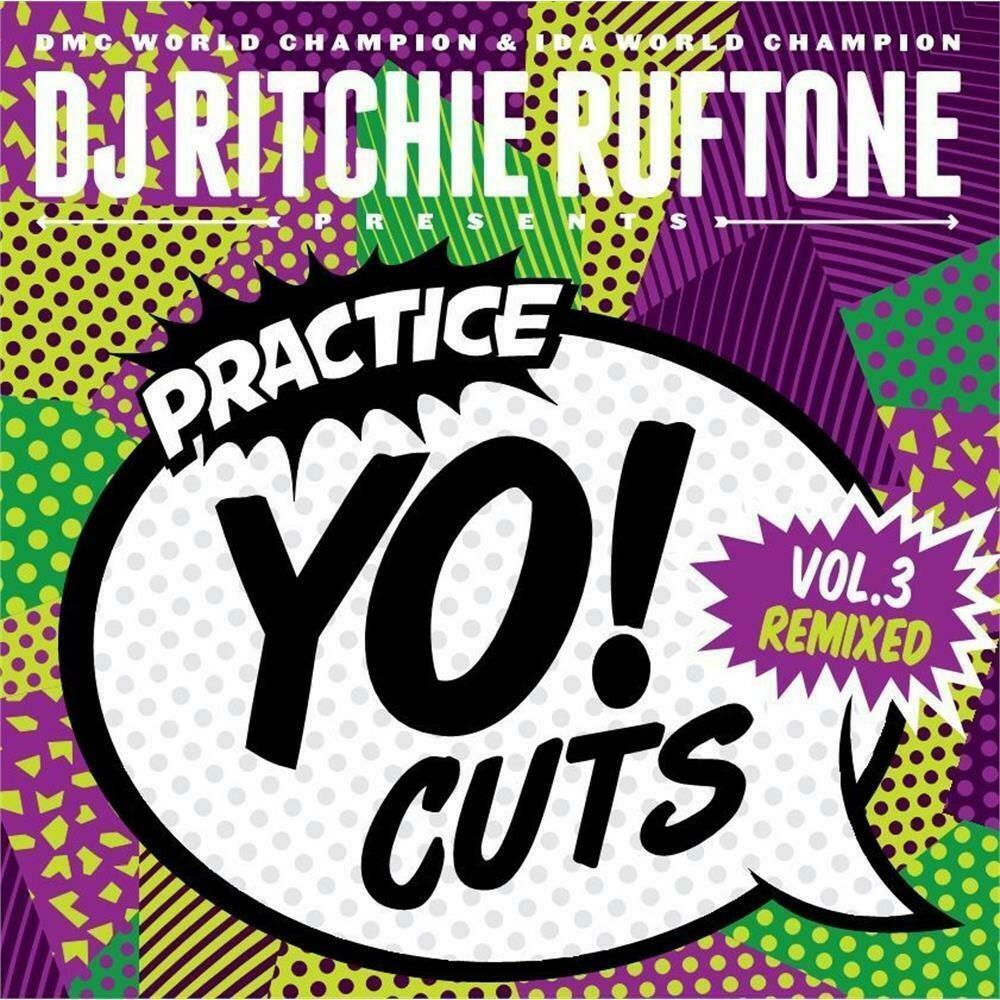 dj ritchie rufftone - practice yo cuts vol 3 - remixed alter (7 дюймов)