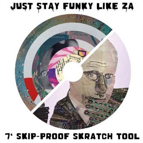 Cut & Paste Records - Just Stay Funky Like Za 7""