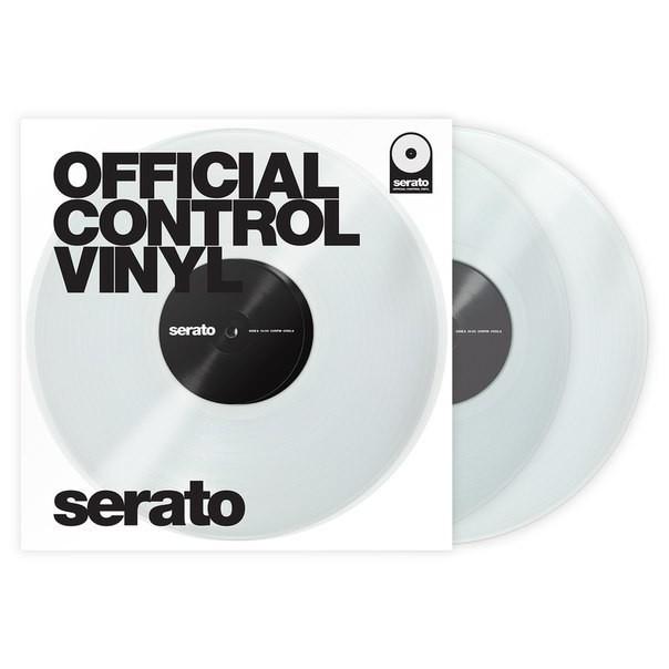 Serato 12 Control Vinyl Performance Series (Пара/Прозрачные)