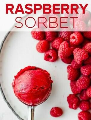 Raspberry Sorbet * 2 Litre