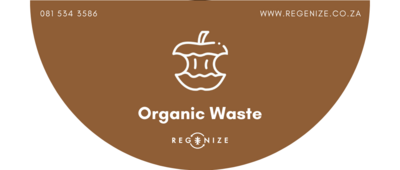 Recycling Bin Sticker - Organic Waste