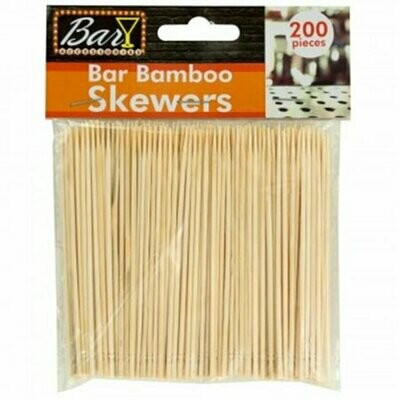 Bamboo Appetizer Skewer Picks - 200 Count